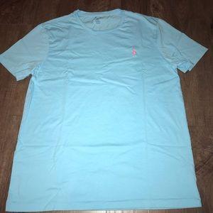 Polo Ralph Lauren t shirt blue size large